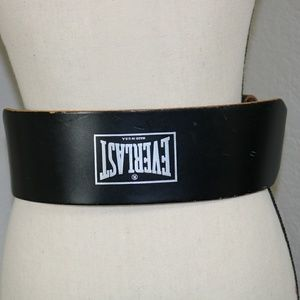 "Everlast leather training belt 24""-32"""
